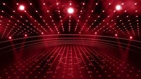 Luz da fase 3d do concerto ilustração stock