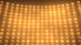 Luz da fase - laranja video estoque
