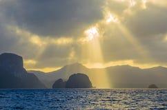 Luz da ilha foto de stock