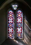 Luz da janela de vitral Imagem de Stock Royalty Free