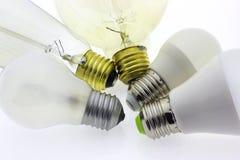 Luz da lâmpada da ampola Imagem de Stock Royalty Free