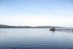Luz da manhã, baía de Tomlaes Imagens de Stock Royalty Free