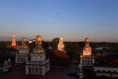 Luz da manhã em Kota Bharu imagens de stock