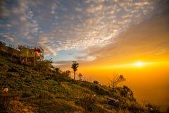 Luz da manhã no monte 4 Fotografia de Stock Royalty Free