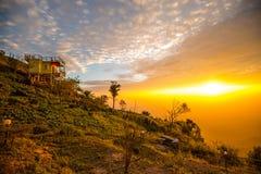 Luz da manhã no monte 3 Imagem de Stock