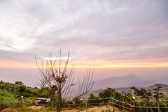 Luz da manhã no monte 12 Imagens de Stock Royalty Free