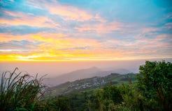 Luz da manhã no monte 11 Fotografia de Stock