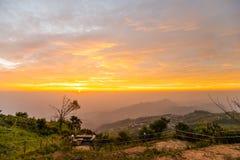 Luz da manhã no monte 9 Imagem de Stock Royalty Free