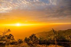 Luz da manhã no monte 5 Imagem de Stock Royalty Free