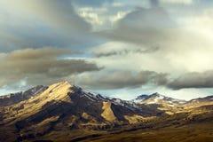 Luz da montanha Foto de Stock Royalty Free