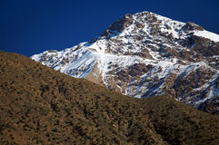 Luz da montanha, atlas elevado. Fotografia de Stock Royalty Free