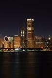 Luz da noite da cidade Foto de Stock Royalty Free