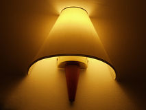 Luz da parede Imagens de Stock