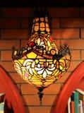 Luz da parede do vintage, lâmpada de parede retro, dispositivo bonde claro da parede decorativa velha da forma foto de stock
