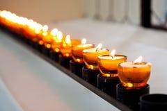 Luz da vela Imagens de Stock