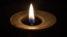 Luz da vela Fotos de Stock Royalty Free