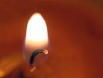 Luz da vela Fotografia de Stock Royalty Free