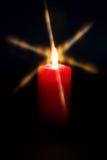Luz da vela fotografia de stock