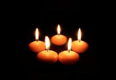 Luz da vela Imagem de Stock