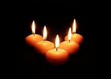 Luz da vela Foto de Stock Royalty Free