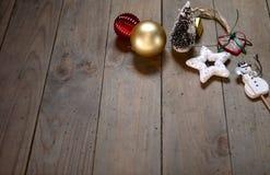Luz das estrelas de Noel Imagem de Stock
