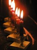 Luz das velas foto de stock
