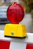 Luz de advertência Fotos de Stock