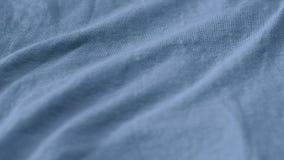 Luz de alta qualidade - textura azul da tela moderna da roupa filme