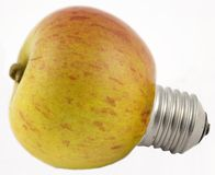 Luz de Apple Imagem de Stock Royalty Free