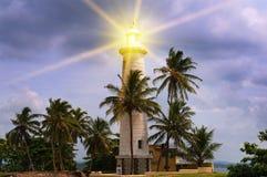 Luz de baliza Fotografia de Stock