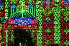 Luz de Bangkok de la felicidad Imagen de archivo libre de regalías