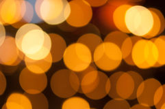 Luz de Bokeh Imagem de Stock