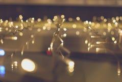 Luz de Bokeh Fotos de archivo libres de regalías
