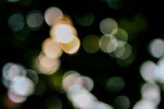 Luz de Bokeh Fotografia de Stock