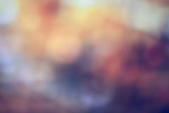 Luz de Bokeh en fondo del color en colores pastel fotografía de archivo