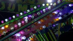 Luz de bulbo do parque de diversões filme