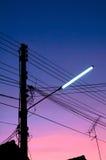 Luz de calle Imagen de archivo