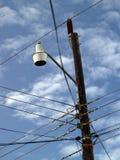 Luz de calle del Caribe Imagen de archivo libre de regalías
