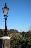Luz de calle en Rye, Sussex del este, Inglaterra Imágenes de archivo libres de regalías