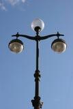 Luz de calle, Moscú foto de archivo