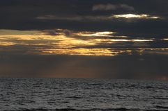 Luz de cielo Fotos de archivo libres de regalías