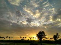 Luz de cielo Imagen de archivo libre de regalías