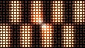 Luz de cintilação no clube noturno vídeos de arquivo