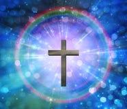 Luz de Cristo ilustración del vector