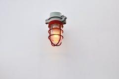 Luz de emergencia Imagen de archivo libre de regalías