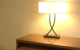 Luz de escritorio Imágenes de archivo libres de regalías