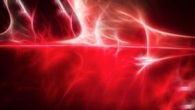 Luz de incandescência abstrata do vermelho e a branca Ilustração Stock
