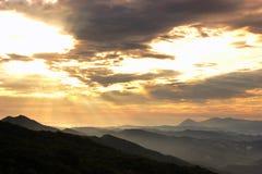 Luz de Jesús shinning por la mañana Fotografía de archivo