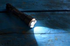 Luz de la antorcha del bolsillo fotografía de archivo