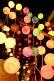 luz de la bola de algodón Foto de archivo libre de regalías